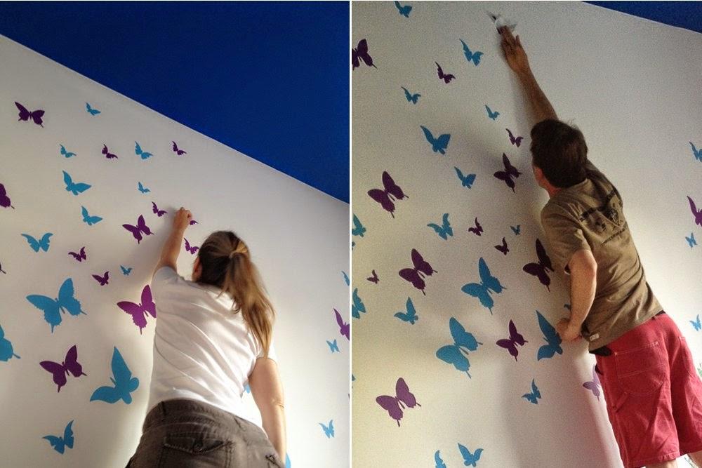 La stanza degli armadi: DIY a casa: farfalle in volo