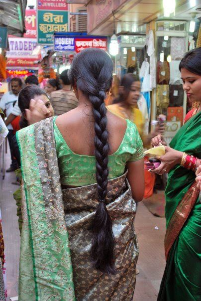 Hindi long hair girl in streets