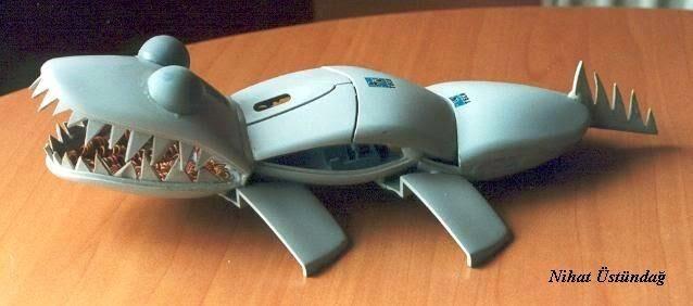 Membuat Robot Dari Barang Bekas Mouse Komputer
