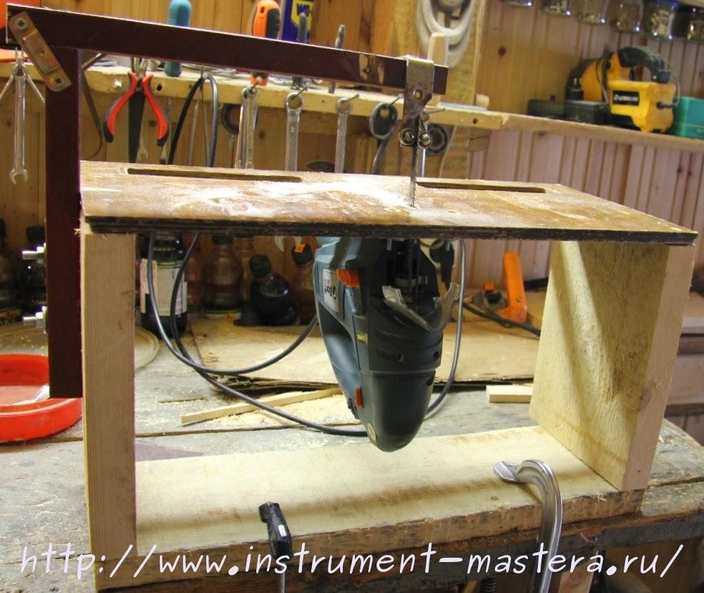 Как сделать простой стол для электролобзика