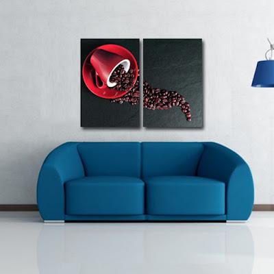Tablouri canvas din 2 piese