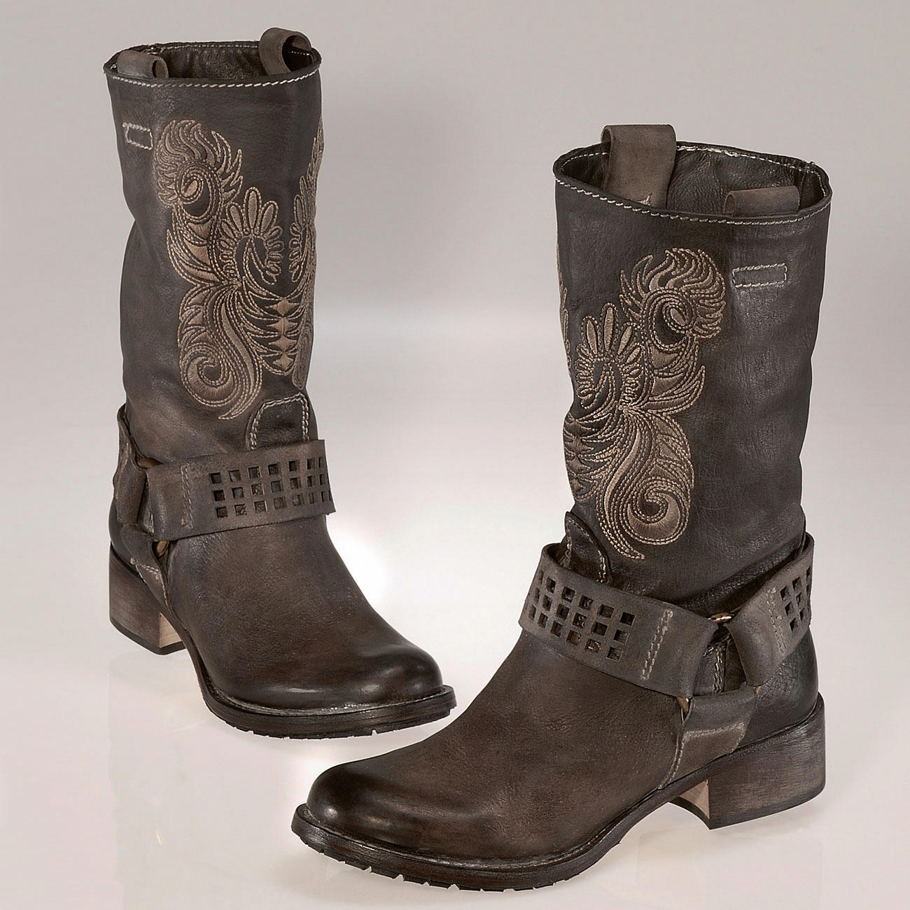 Luxury &quotTougher&quot Styles Like Motorcycle  Womens 5050 OvertheKnee Boot,Black Nappa,65 M US So Heres The Deal With Wellies These Boots Arent Supposed To Be Fitted Theyre Supposed To Flap Around On Your Legs  Thats The Style, And