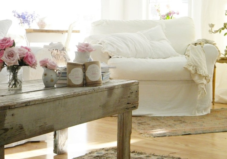 Country style chic shabby chic style in spring pastels - Estilo country chic ...