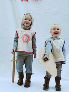 Fantasia Infantil de Cavaleiro