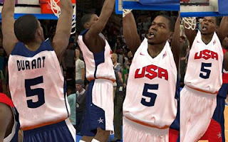 FIBA 2K12 Mod - Team USA Kevin Durant