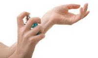 Spray Perfume: Wrist