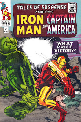 Tales of Suspense #71, Iron Man vs Titanium Man