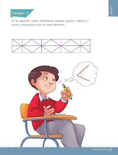 Apoyo Primaria Desafíos matemáticos 5to grado Bloque I lección 9 Diferentes ángulos