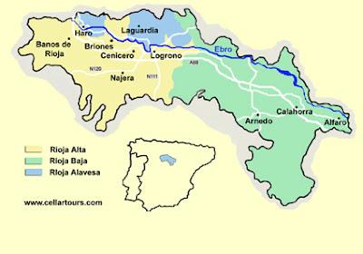 La Rioja Mapa Ciudad de la Región