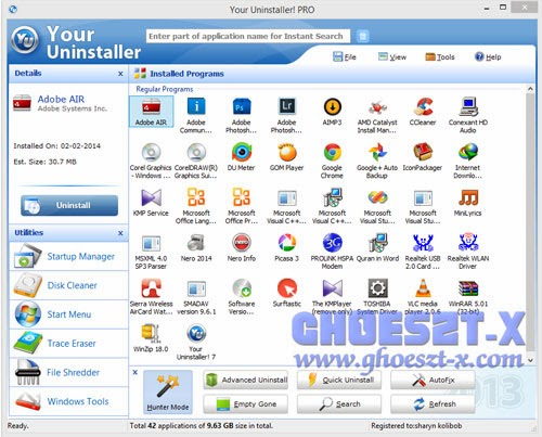 Your Unistaller Pro v.7.5