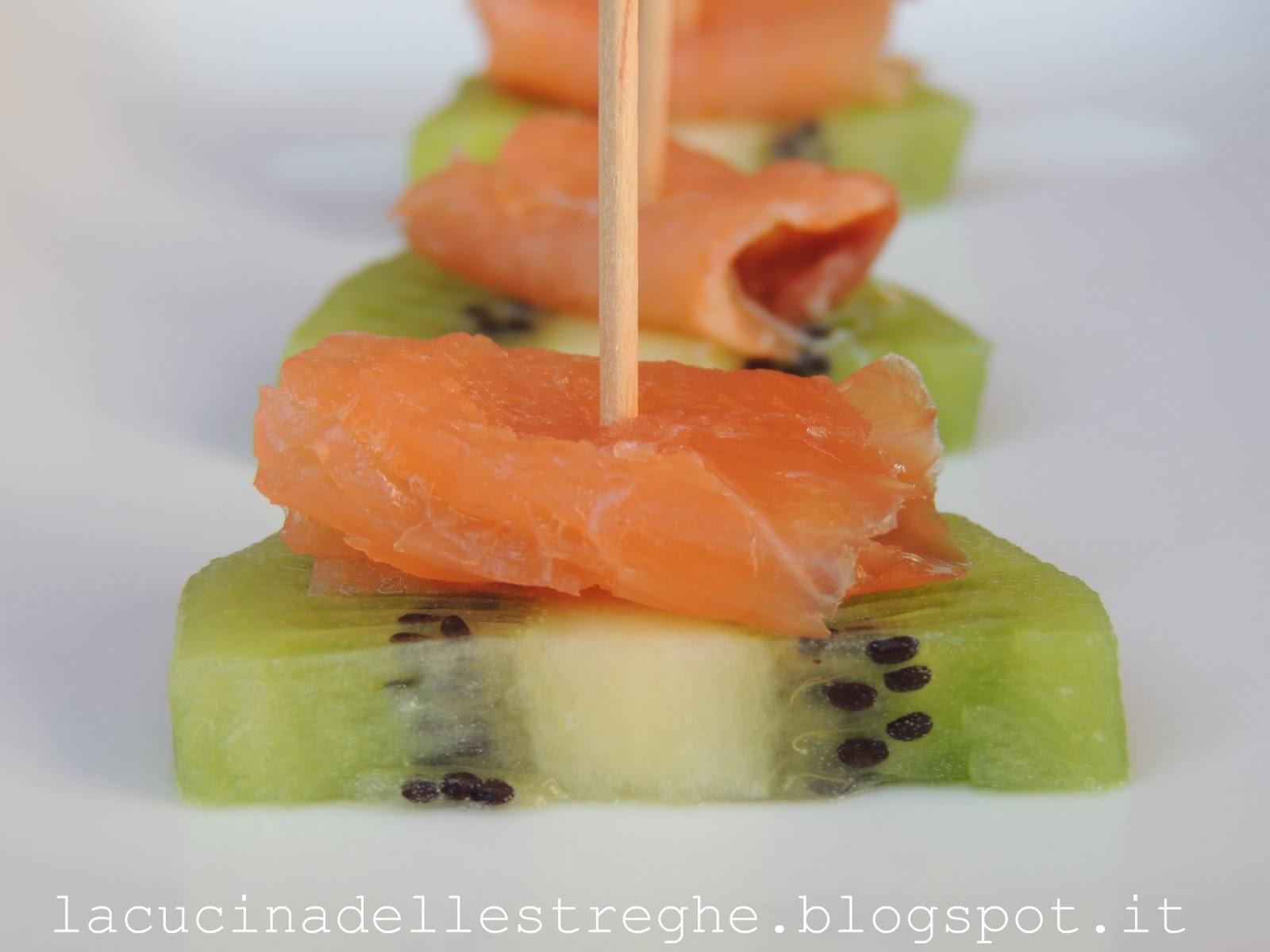 Ricette antipasti con kiwi