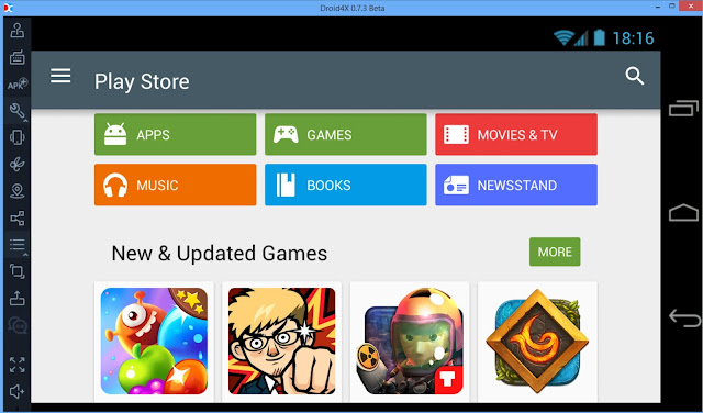Download Droid4X Offline Installer for Windows 7/XP/8.1 and MAC