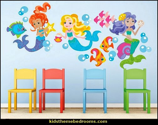 Decorating Theme Bedrooms Maries Manor Underwater Bedroom Ideas - Spongebob room decals