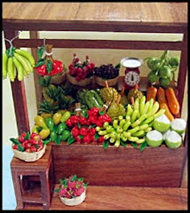 Miniature Fruits Stall