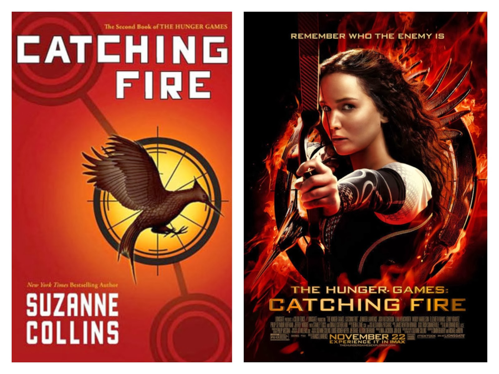 comparison of hunger games book and