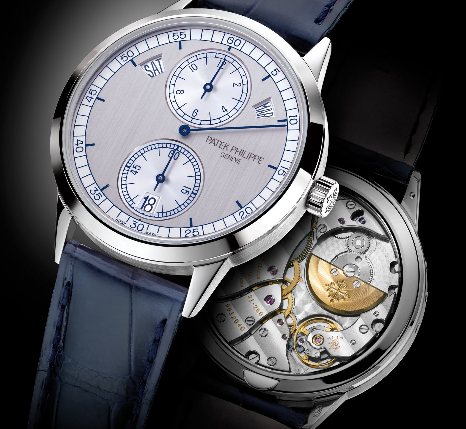 Kronosblog patek philippe regulator 5235g for Patek philippe