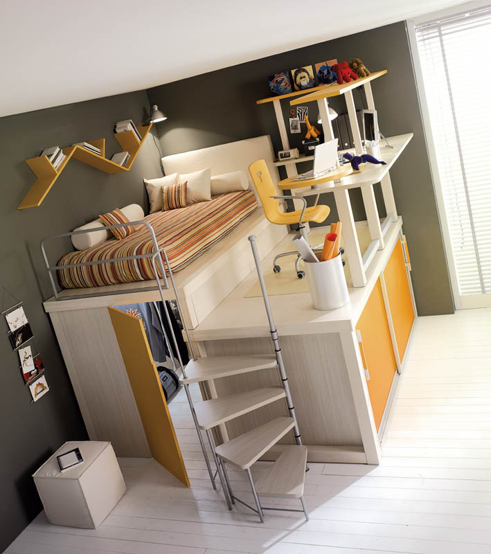 Cool Space Saving Kids Rooms Pictures