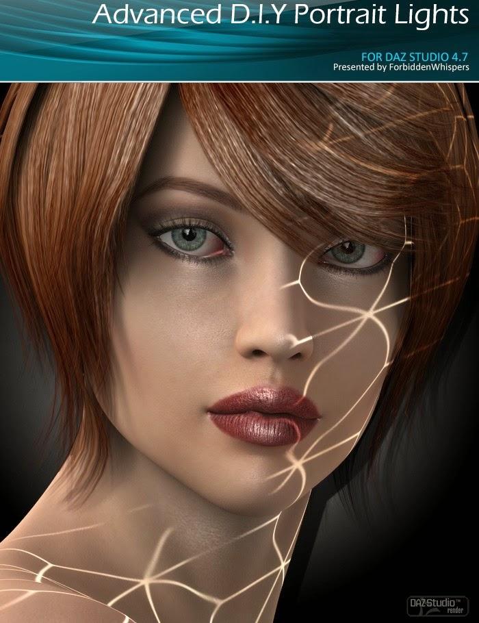 Advanced Lights Portrait de bricolage pour DS4