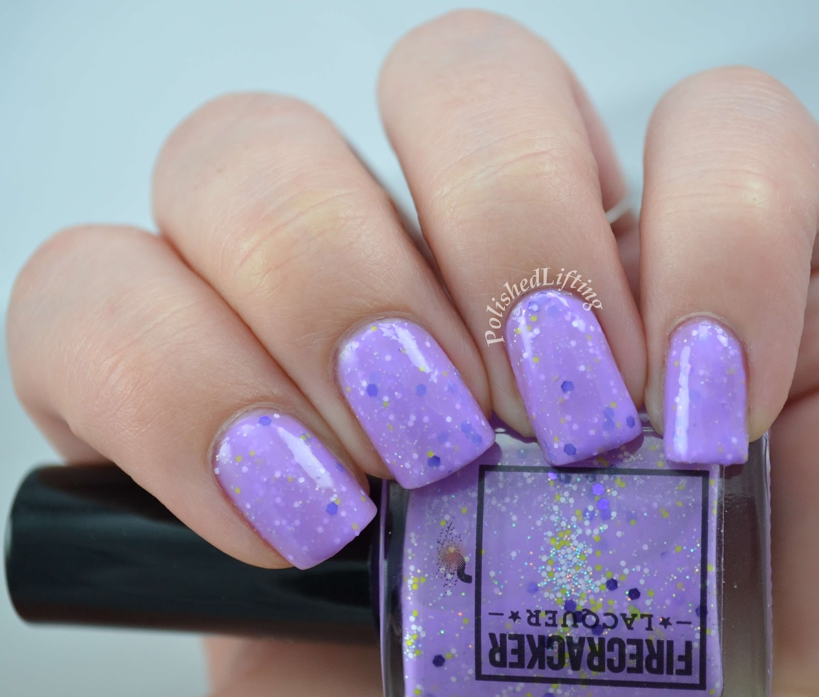Firecracker Lacquer Purple Peep-le Eater Indie Mani Bunny Box