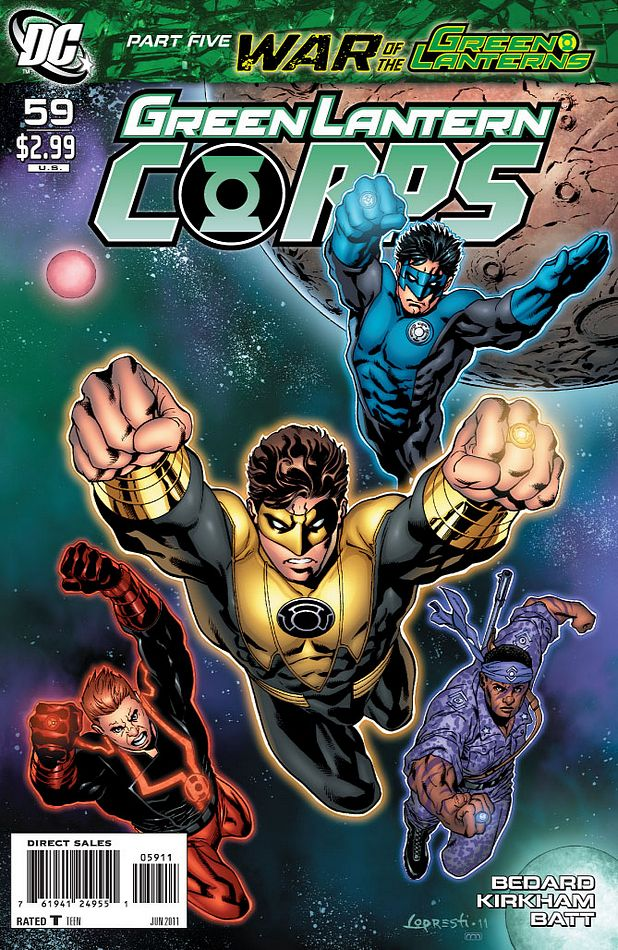 Green lantern corps comic cover - photo#25