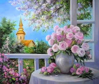 pinturas-de-flores-en-ventanas
