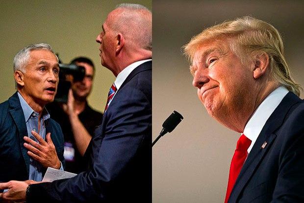 Donald Trump expulsa jornalista da conferência de imprensa