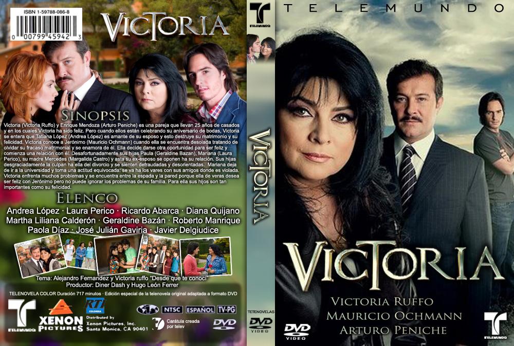 Carátula Telenovela Victoria