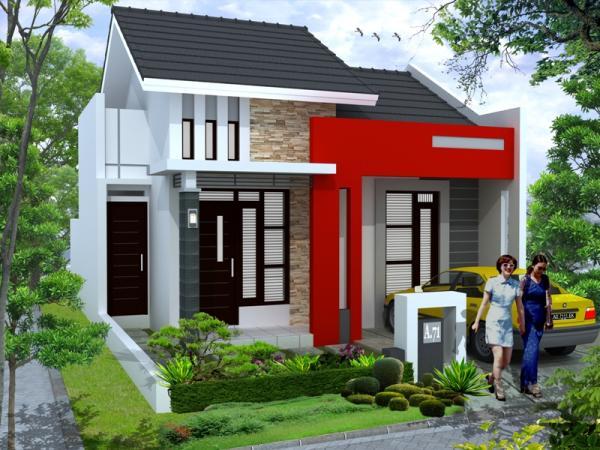 desain rumah minimalis sederhana model rumah modern