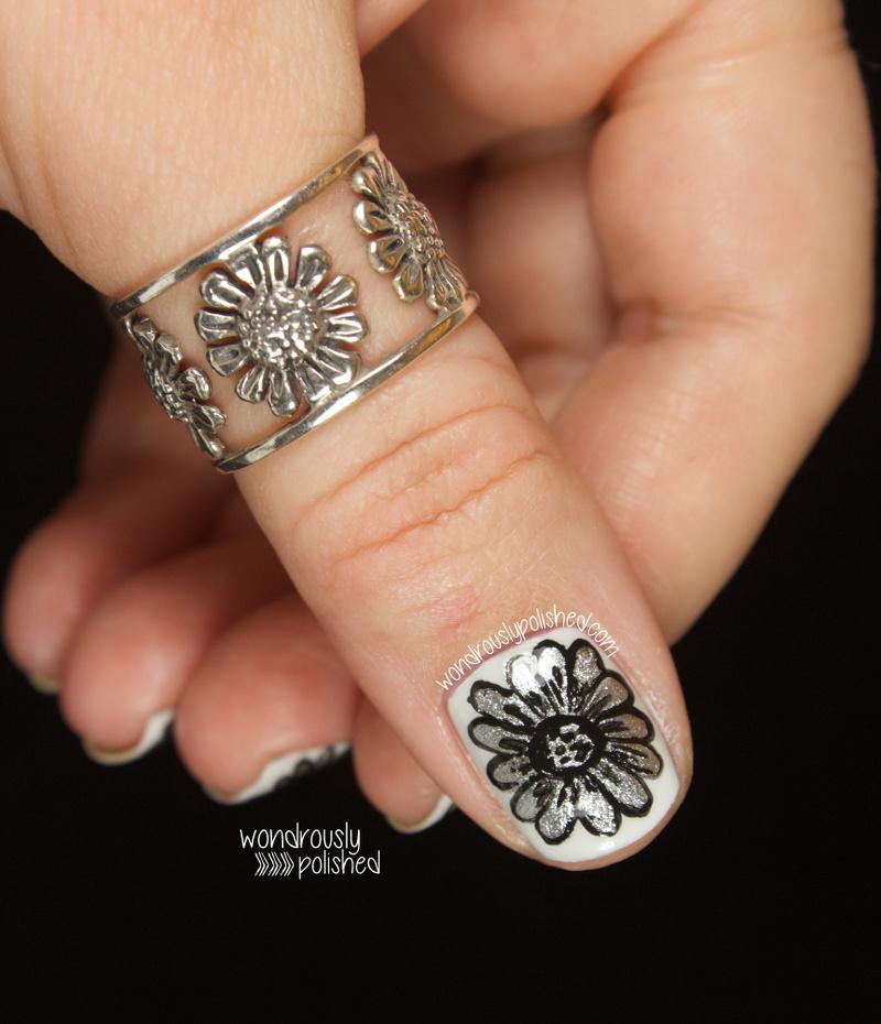 Silver Daisy Ring Pandora