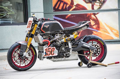 "Victory & Roland Sands ""Project 156"". Pikes Peak ""Race to the clouds"""