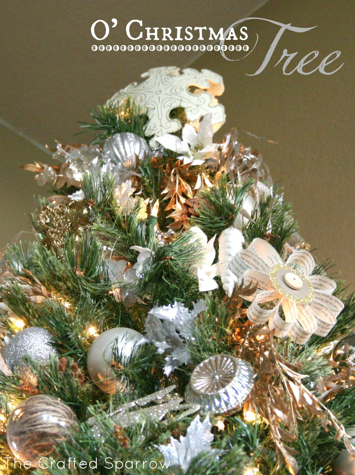 O\' Christmas Tree - The Crafted Sparrow