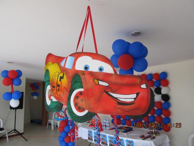 Fiestas cars fiestas tematicas infantiles medellin for Decoracion del hogar en medellin