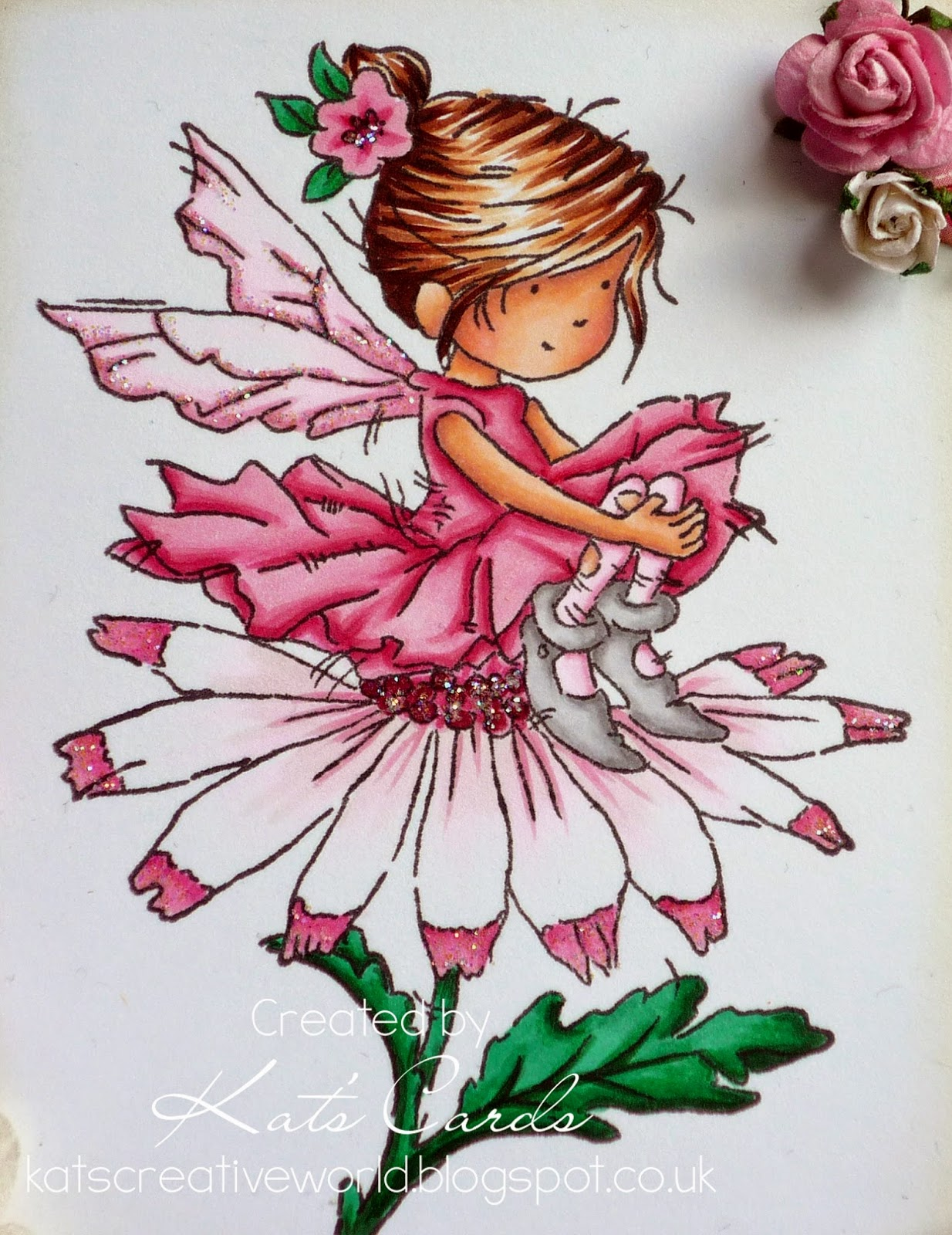 Paper firefly flower fairy this is just one of the many gorgeous new fairy stamps at lotv i could so have bought them all but had to resist mightylinksfo
