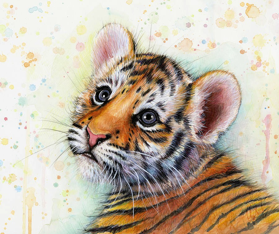 Water - color animal painting