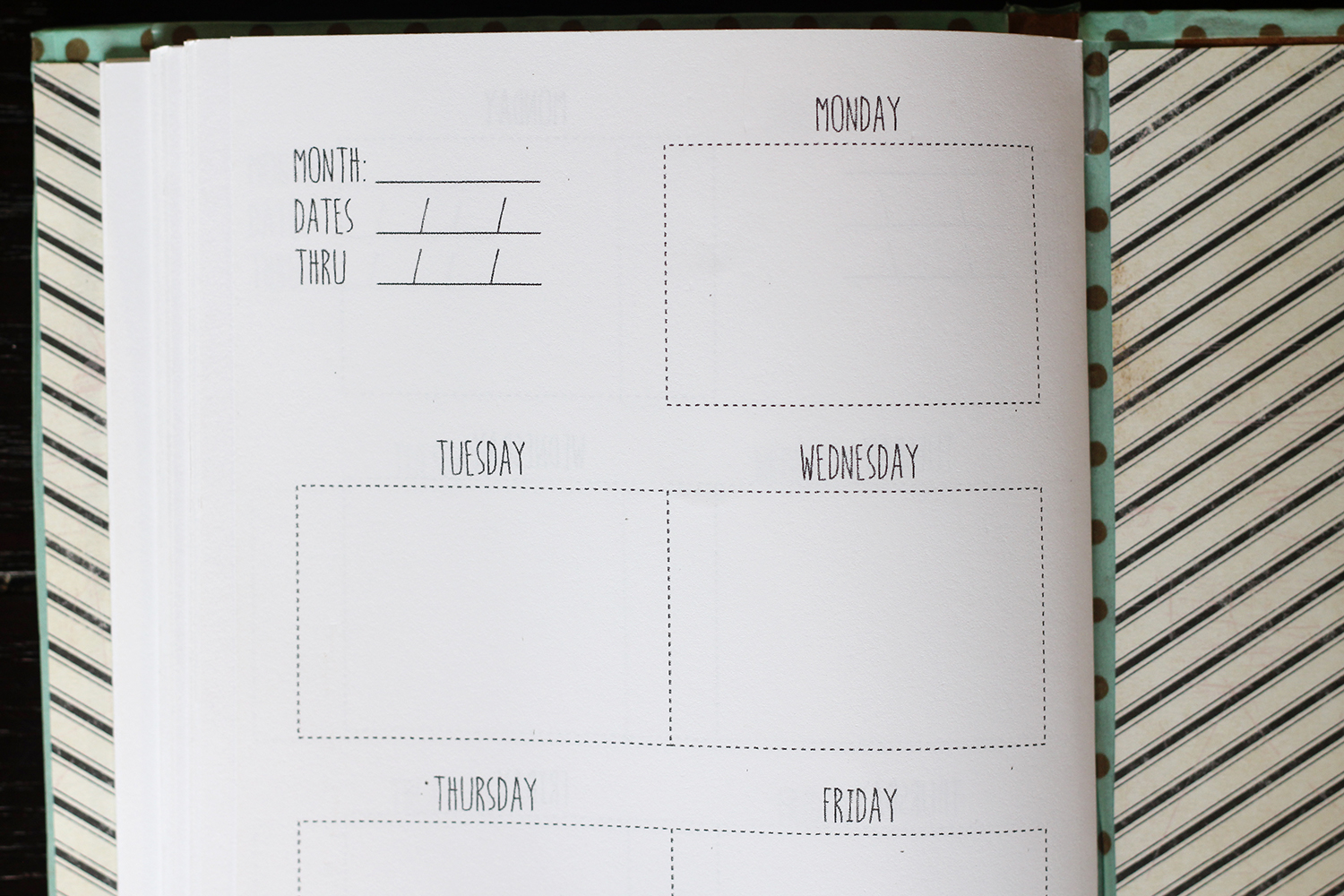 Diy Calendar Planner Template : We can make anything diy weekly planner free template