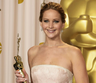 Jennifer Lawrence 2013 Oscar Winner HD Wallpaper