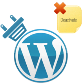 Deactive WordPress Plugins