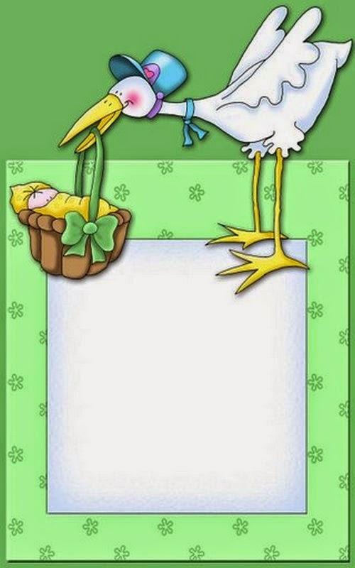 Tarjetas e Invitaciones de Baby Shower para Niños, parte 2