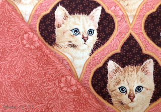 'Ivory Cats' by Lesley Anne, for Quilting Treasures, 2011