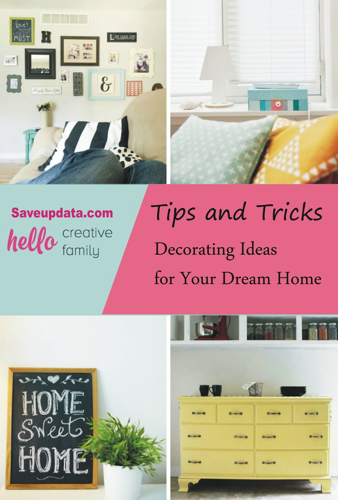 Kumpulan Tips dan Ide Dekorasi Rumah