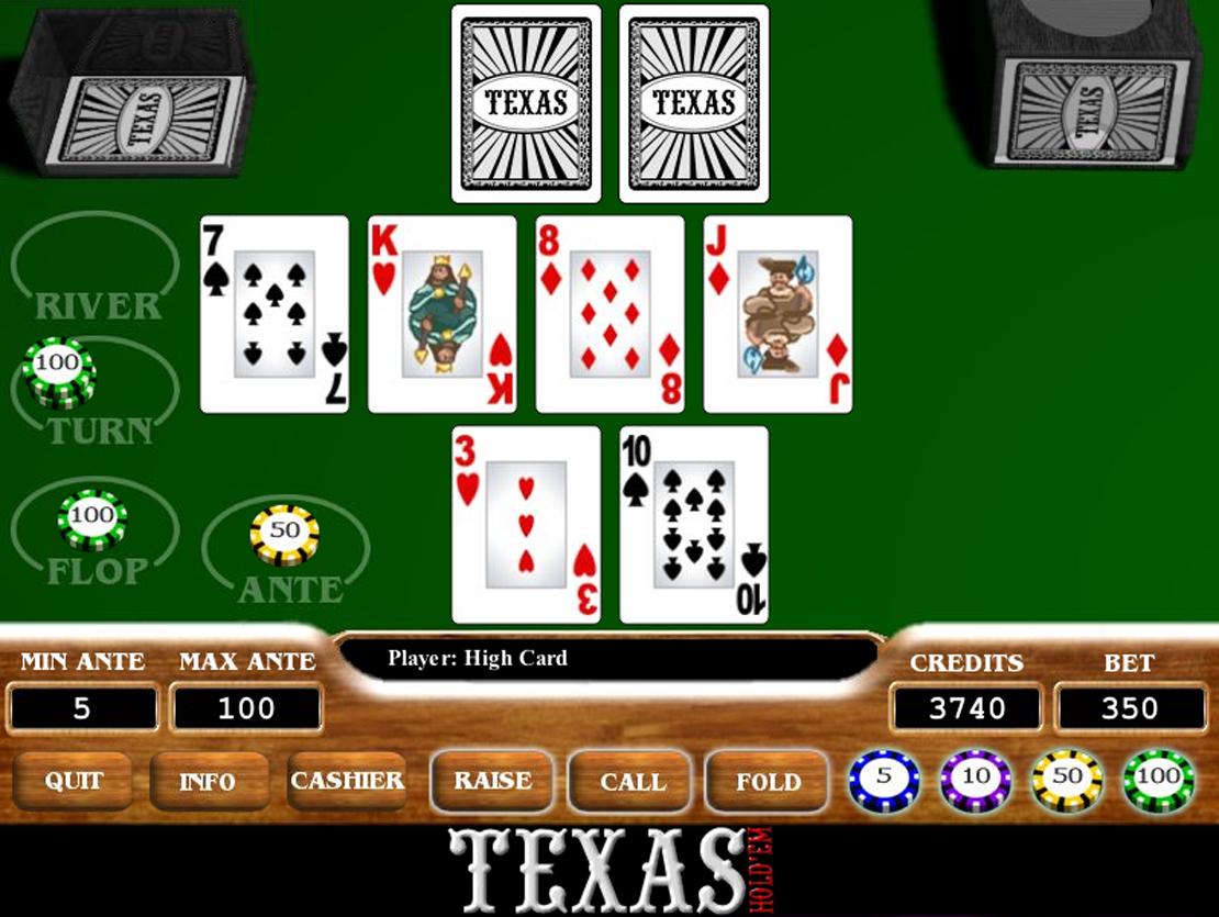 Jogar poker americano gratis