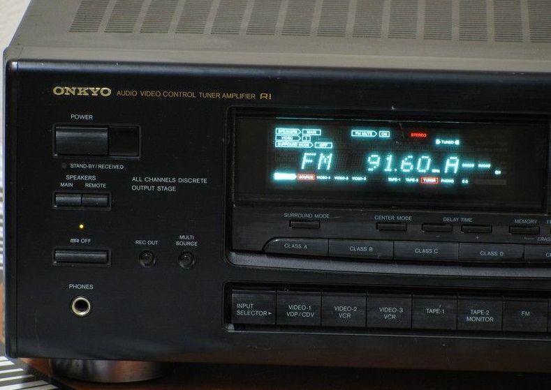 Onkyo Tx Sv9041 Av Receiver Audiobaza
