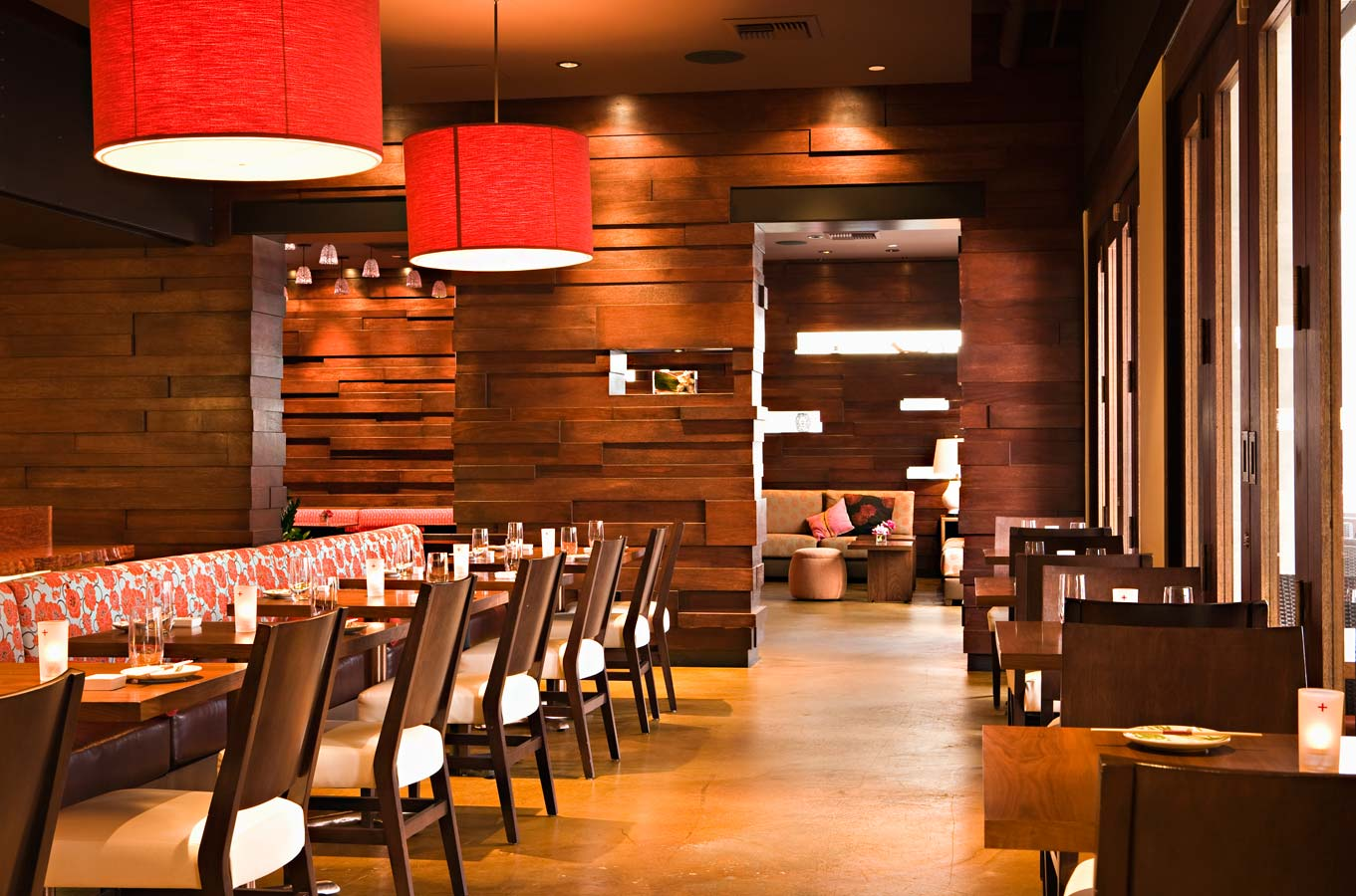 Mix and chic cool designer alert chris barrett - Interior designers for restaurants ...