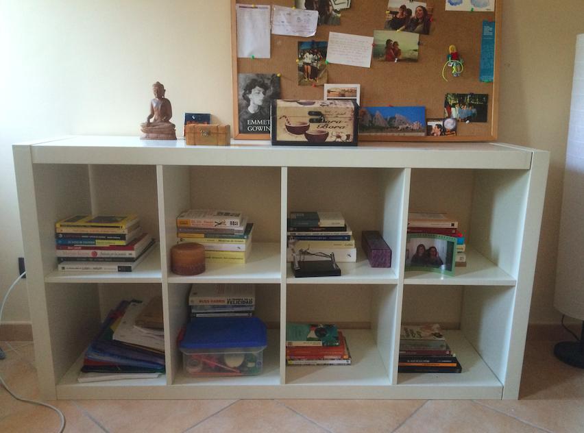 Libros y papeles despu s - Ordenar libros konmari ...