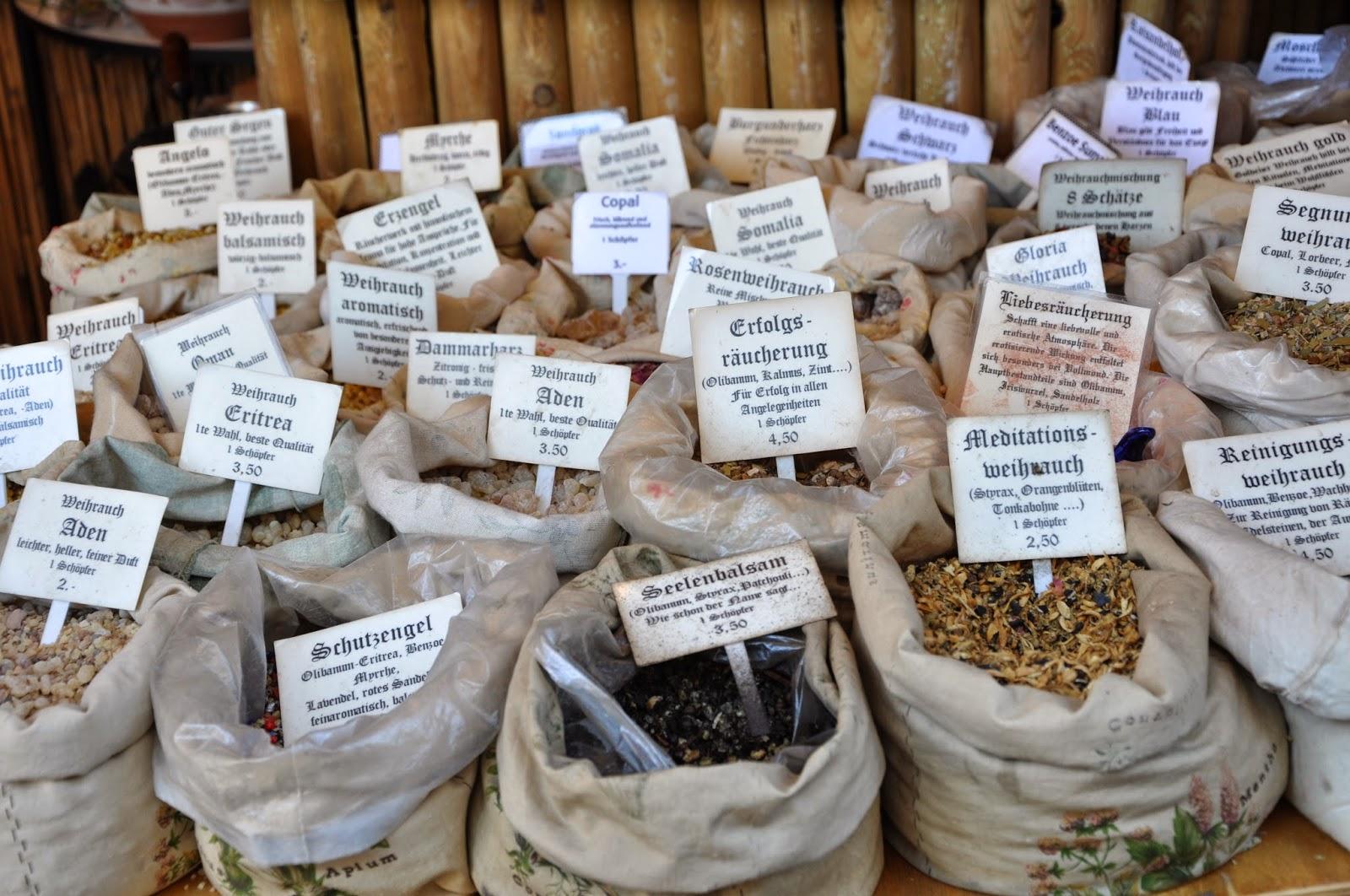 Jahrmarkt Memmingen: Weihrauch in allen Variationen