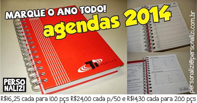 Agendas e calendarios 2014