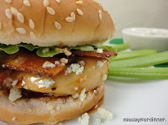 Buffalo Chicken Sandwiches with Winger's Copycat Wing Sauce