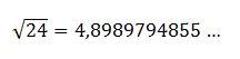calcular a raiz quadrada