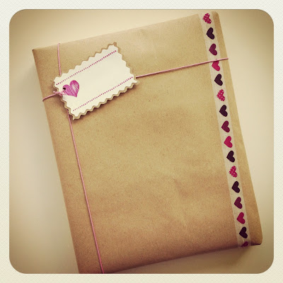 Packaging de regalo con washi tape