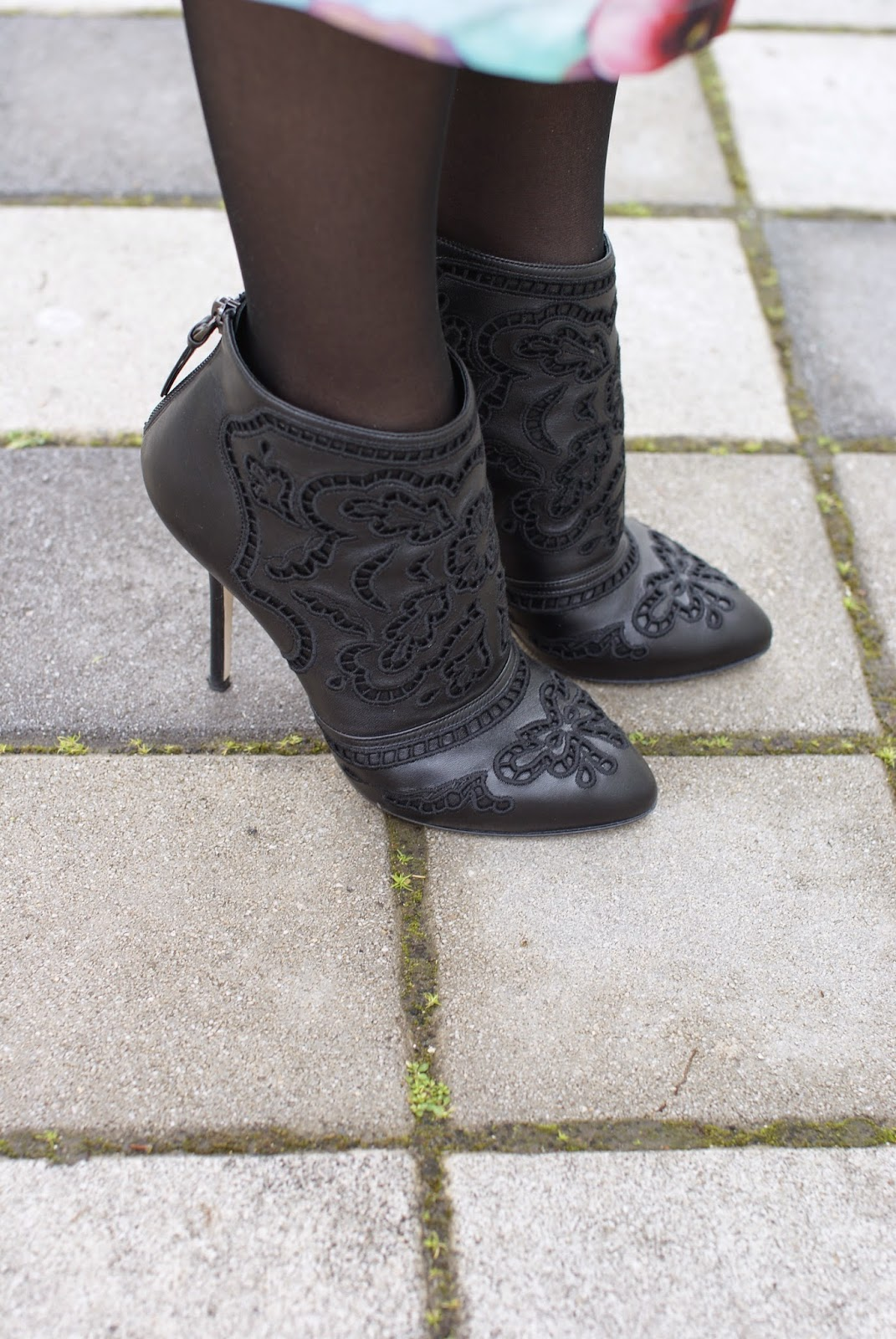 Dolce & Gabbana Coco boots, Fashion and Cookies fashion blog, fashion blogger